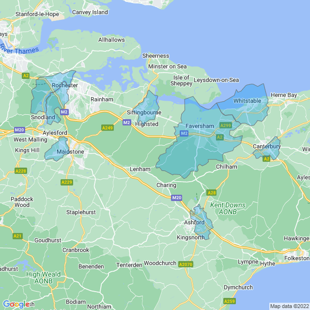 Coverage for North Downs Gas