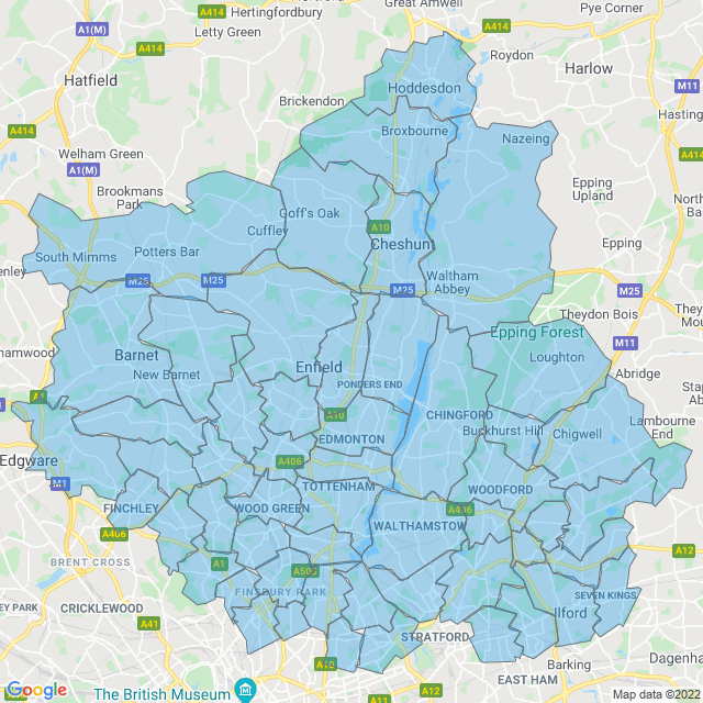 Coverage for North London Gas Services