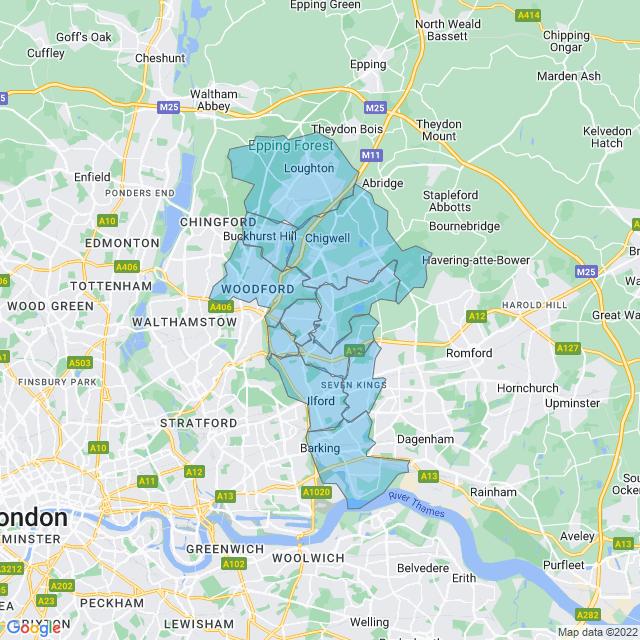 Coverage for Locksmith In London Ltd