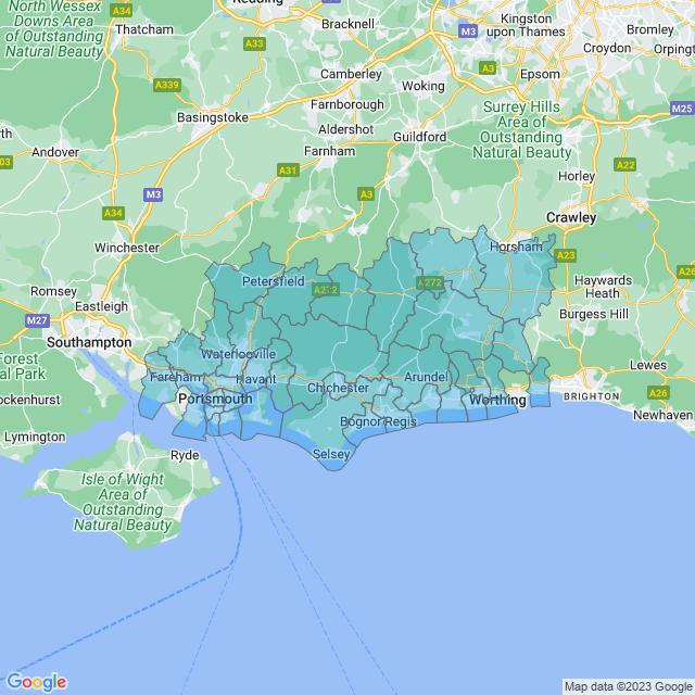 Coverage for Lockforce Locksmiths Portsmouth